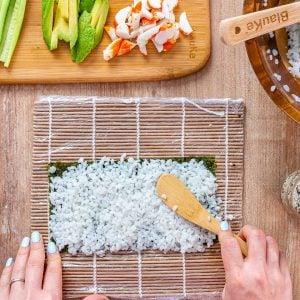 California Rolls Recipe + Sushi Rice Recipe - 5