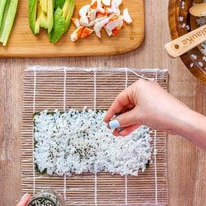 California Rolls Recipe + Sushi Rice Recipe - 6