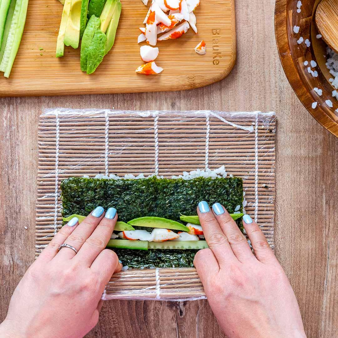California Rolls Recipe + Sushi Rice Recipe - 8