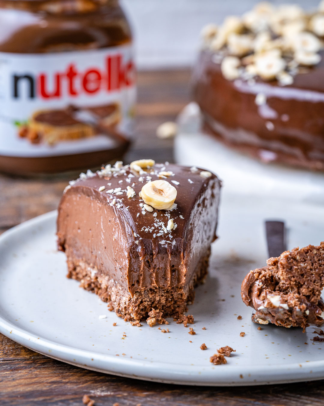 No Bake Nutella Cheesecake Recipe – Flourless Chocolate Cake Recipe - 1