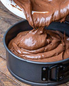 No Bake Nutella Cheesecake Recipe – Flourless Chocolate Cake Recipe - 12