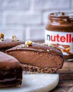 No Bake Nutella Cheesecake Recipe – Flourless Chocolate Cake Recipe - 21