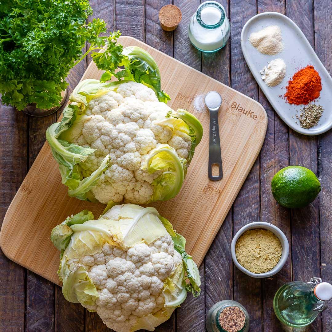 Roasted Cauliflower Steaks Recipe (Vegan | Keto | Paleo | Whole30) - 28