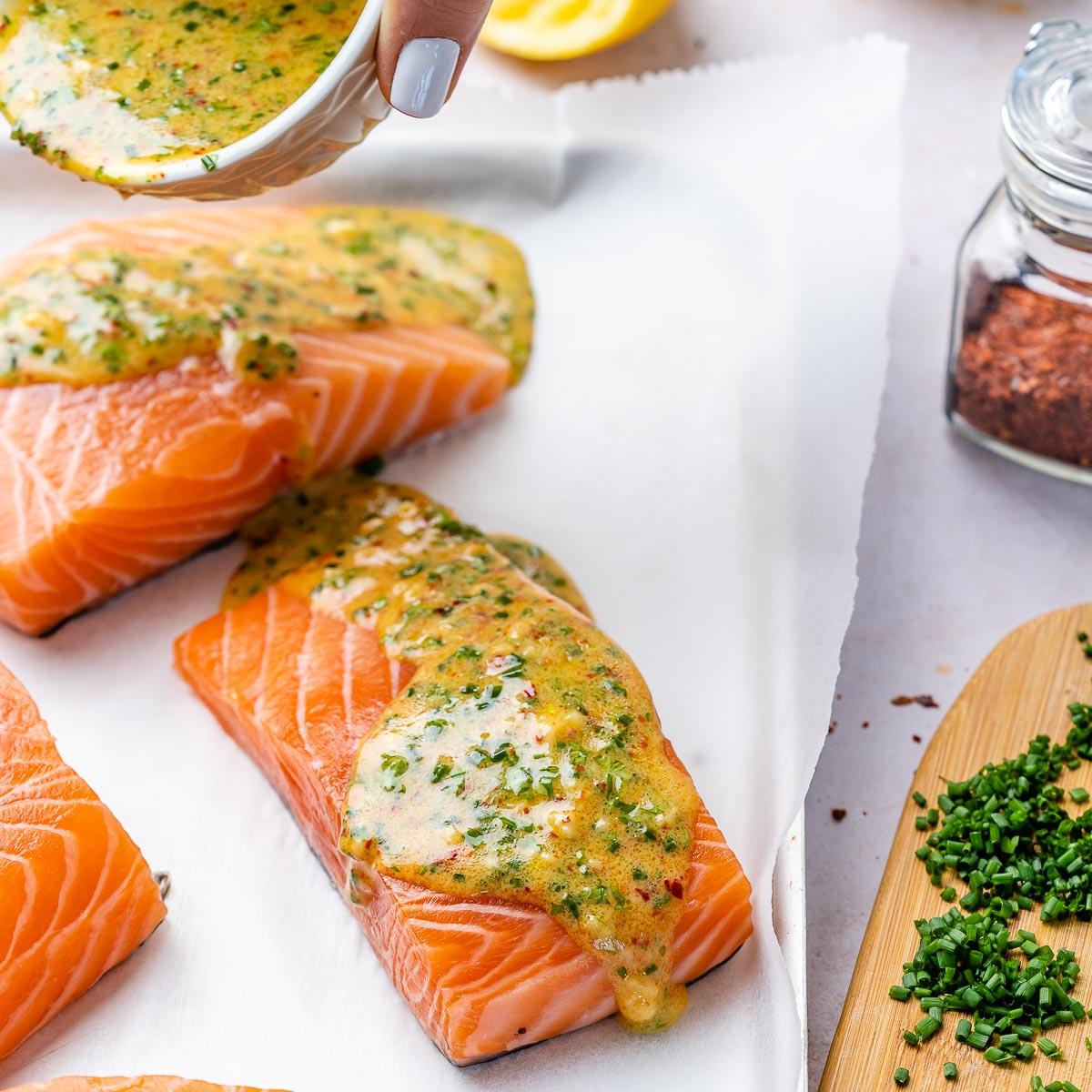 Keto Baked Salmon Recipe - 3