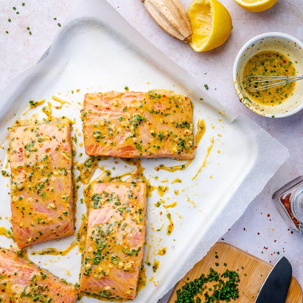 Keto Baked Salmon Recipe - 5