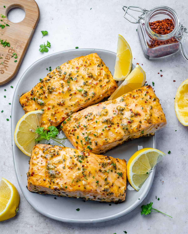 Keto Baked Salmon Recipe - 9