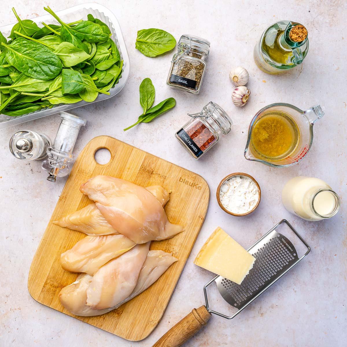 Keto Chicken Florentine – Creamy Chicken in White Sauce - 31