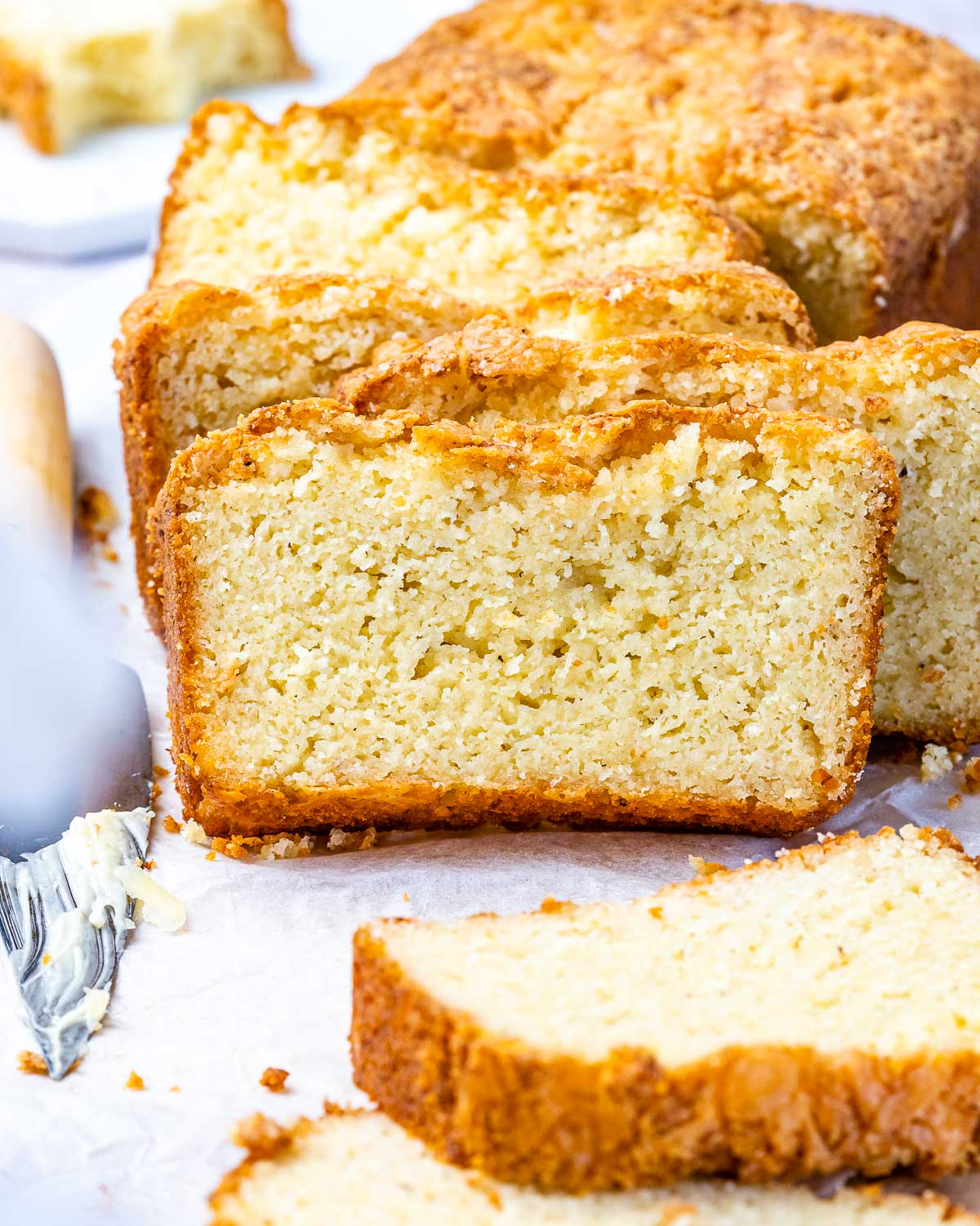 Low Carb Keto Bread Recipe With Almond Flour And Cheese - 109